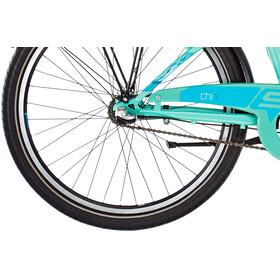 s'cool chiX 24 3-S steel Kinder pastelgreen matt
